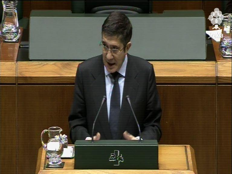 """Lehendakari: """"Urge una reforma fiscal en Euskadi"""" [1:56]"""