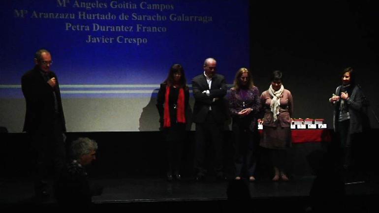 Acto Anual 2011 de reconocimientos a las personas de Comarca Interior de Osakidetza