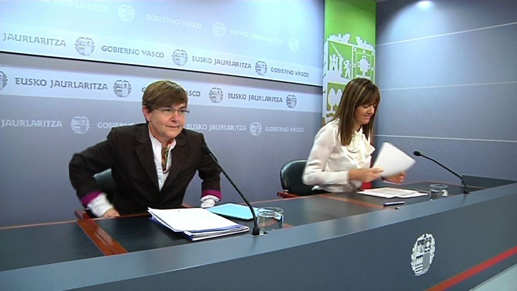 La Estrategia Vasca de Empleo permitirá situar el paro por debajo del 8% en 2014  [1:45]