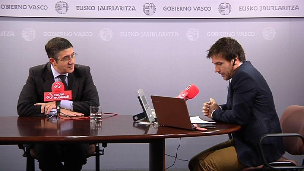 Entrevista al Lehendakari en Radio Euskadi [36:43]
