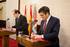Lehendakariak lankidetza protokoloa izenpetu du Gaztela eta Leongo presidentearekin