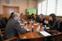 Los consejeros de Sanidad vasco y navarros mantienen una reunión de trabajo