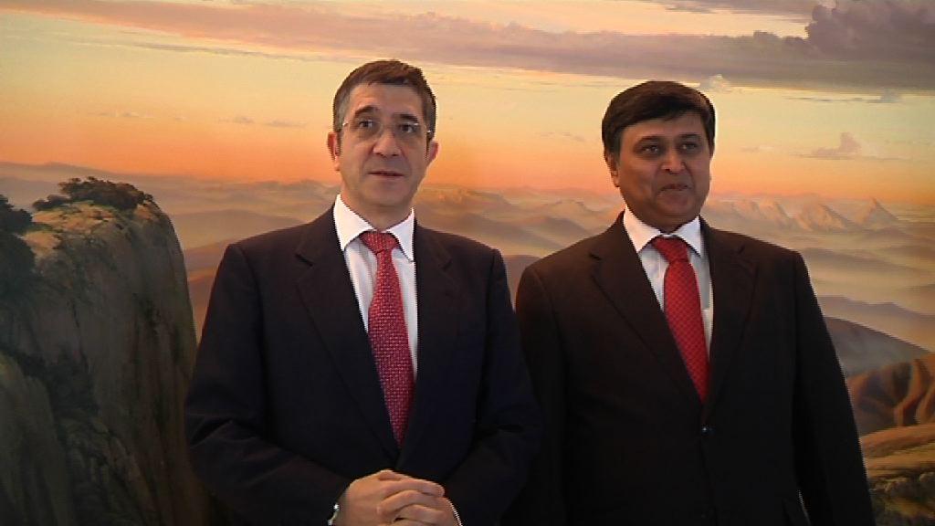 El Lehendakari encabezará una misión comercial a La India en marzo [1:15]