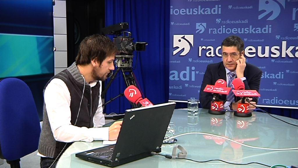 """Lehendakari: """"Es radicalmente falso que Euskadi tenga problemas de tesorería"""" [28:38]"""