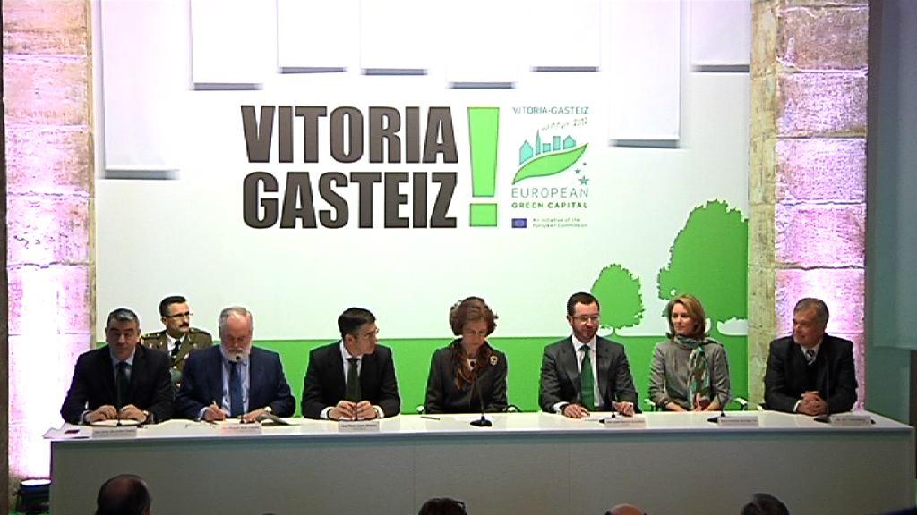 "Vitoria-Gasteiz European Green Capital 2012, una ""oportunidad"" para Euskadi [0:53]"