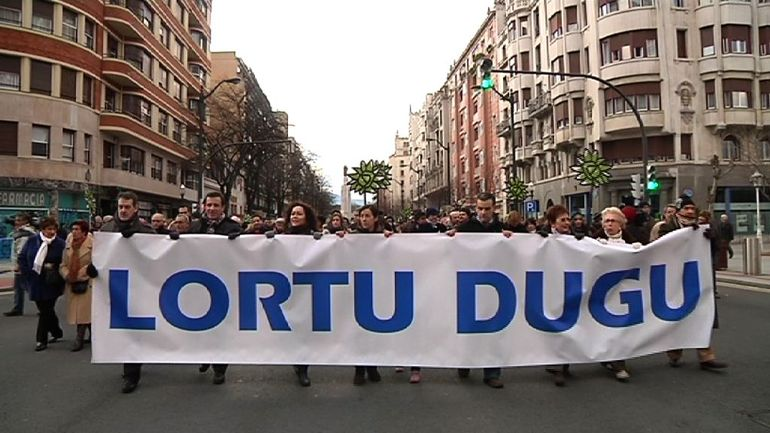 """El Lehendakari rinde homenaje a la """"resistencia cívica"""" de Gesto Por la Paz contra el terrorismo"""
