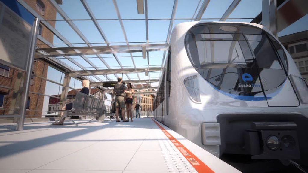 El Gobierno Vasco iniciará en otoño las obras de construcción de la nueva estación de Ermua [4:08]