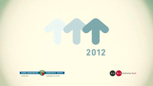 """""""2012 Euskadi, año de las culturas por la Paz y la Libertad"""" [2:10]"""