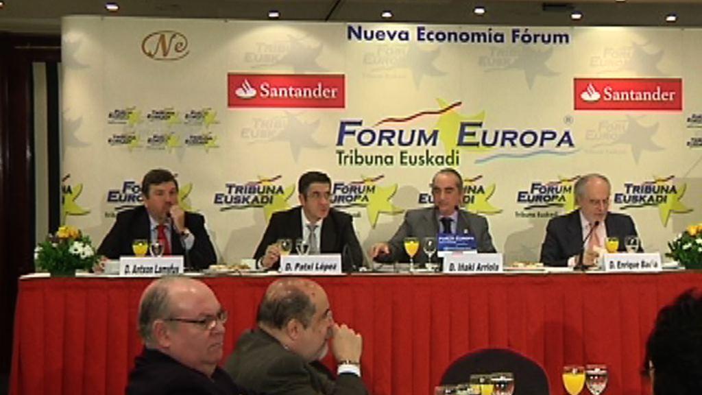 Intervención del Consejero Iñaki Arriola en el Foro Europa [0:49]
