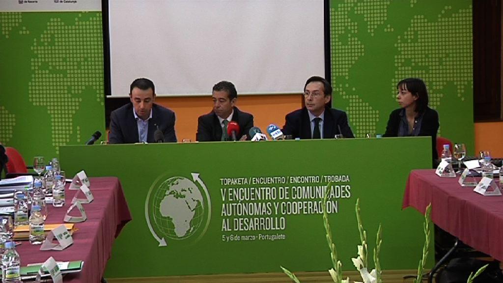 Euskadi, afitrión del V Encuentro de Comunidades Autónomas y Cooperación al Desarrollo  [31:37]