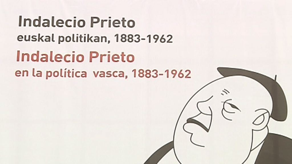 Inauguración de la exposición de Indalecio Prieto [2:47]