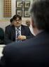 (INDIA) Encuentro del consejero Bernabé Unda con los responsables de SAIL