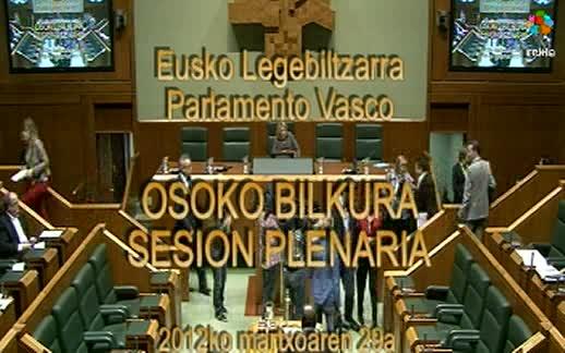 Pleno Ordinario. (29-3-2012) [178:01]