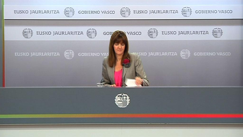 Idoia Mendia adelanta que Lanbide va a destinar este año 32,6 millones de euros para subvencionar empleos para vascos con discapacidad [17:25]