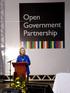 Irekia participa en la redacción de un Manifiesto de Gobierno Abierto