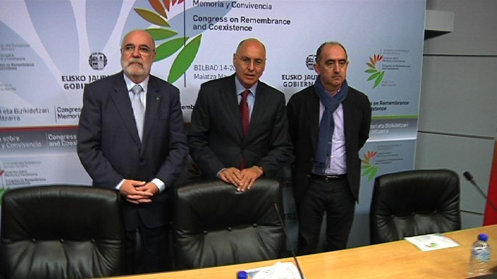Bilbao acogerá el Congreso sobre Memoria y Convivencia entre el 14 y el 20 de mayo [33:54]