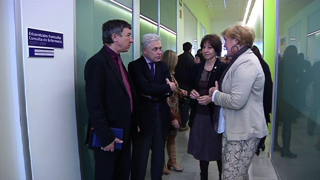 Se inaugura la ampliación del centro de rehabilitación comunitario de la red de Salud Mental de Vitoria [1:32]