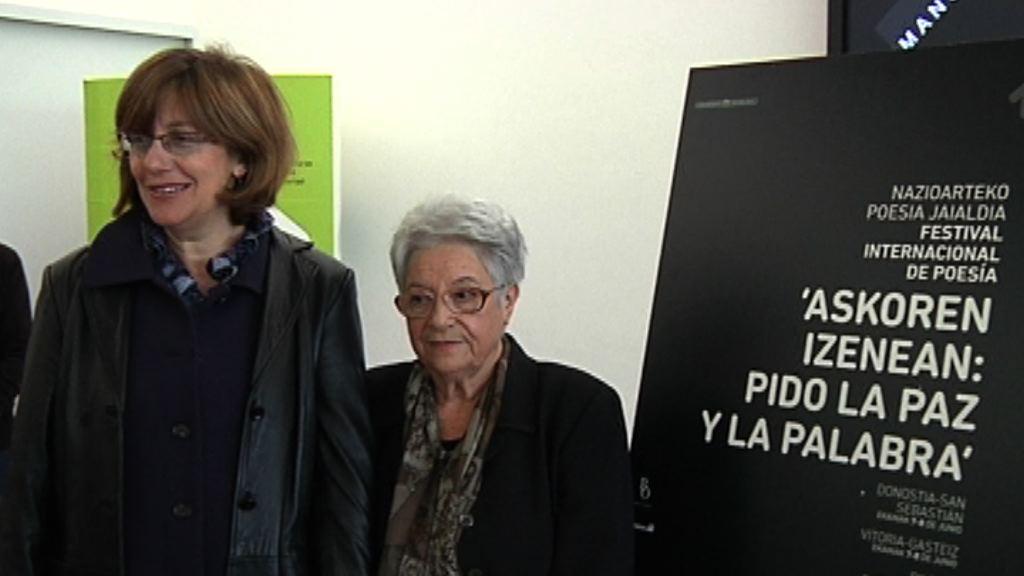 2012 Euskadi ekimenak 'Askoren Izenean: Pido la Paz y la Palabra' Nazioarteko Poesia Jaialdia aurkeztuko du [37:25]