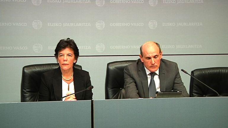 """Celaá: """"Las medidas de Rajoy no tendrán ningún efecto en Euskadi"""""""