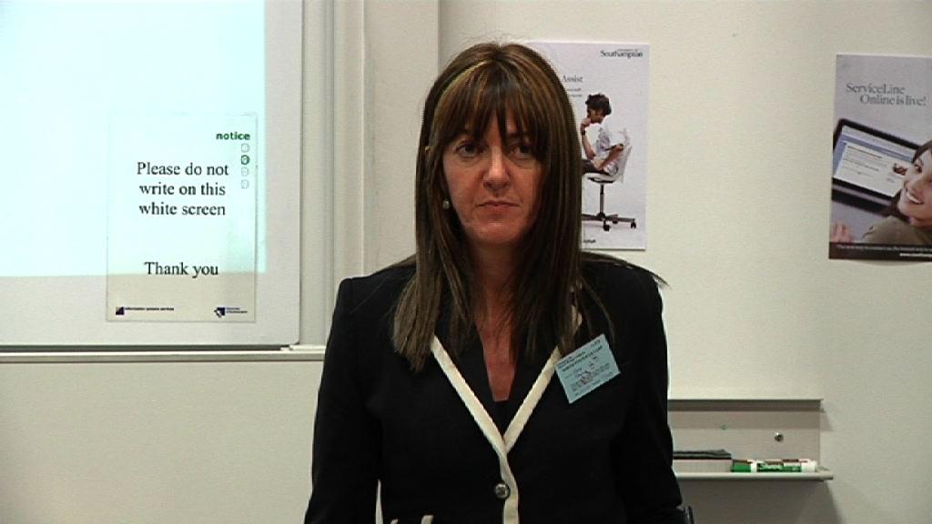 Idoia Mendia speaking at Southampton University [9:22]