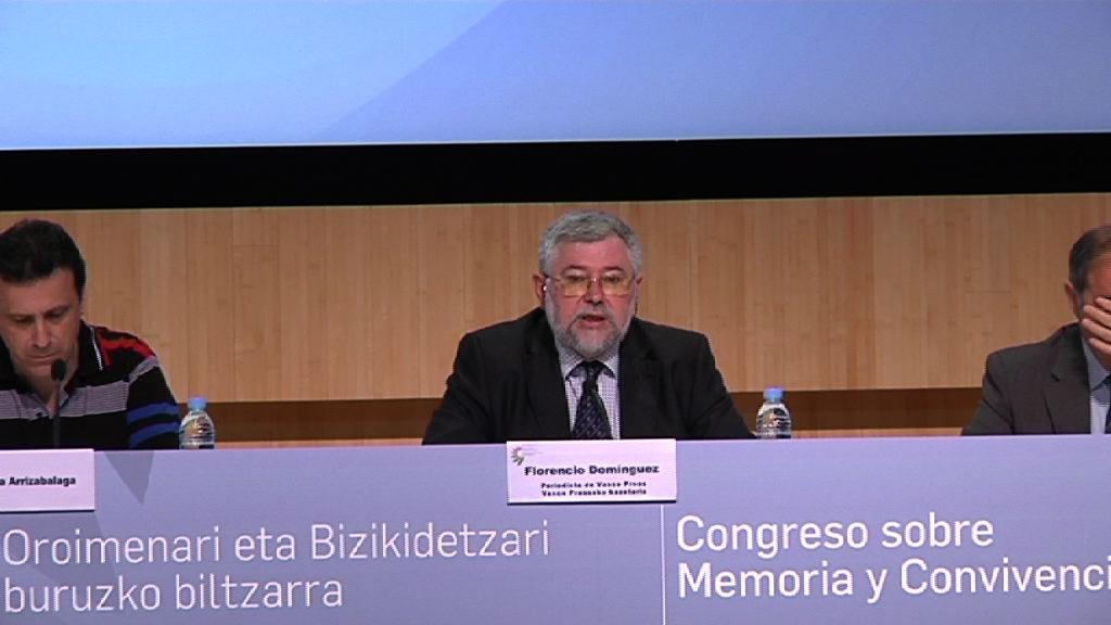 Arranca el Congreso sobre Memoria y Convivencia, Florencio Domínguez [11:24]