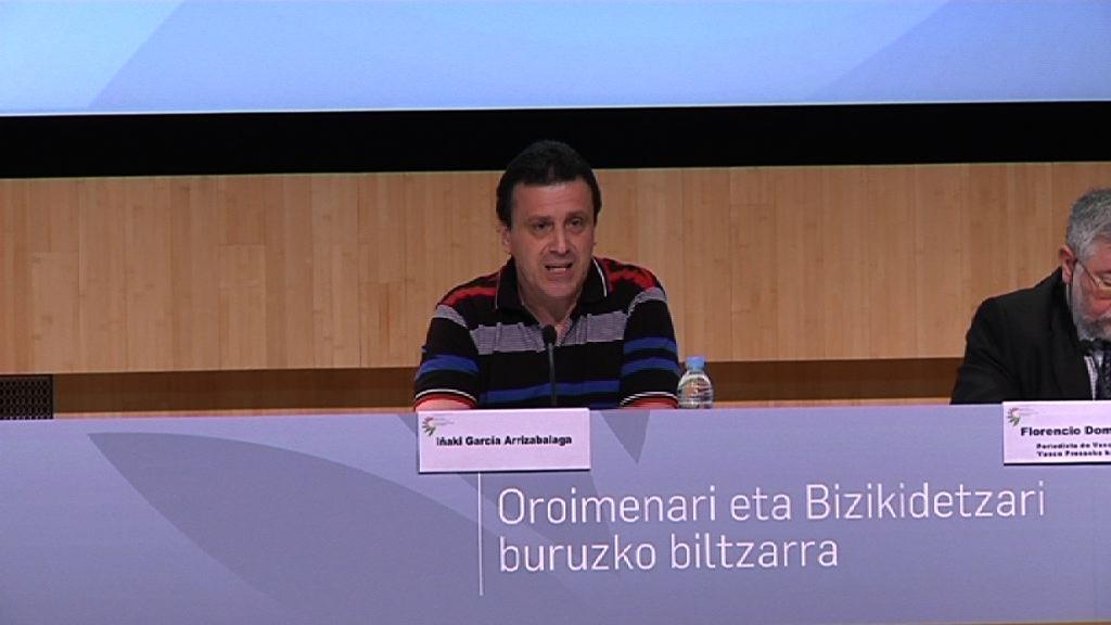 Arranca el Congreso sobre Memoria y Convivencia, Iñaki García Arrizabalaga [12:34]