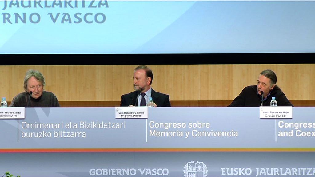 Cuarta jornada del Congreso sobre Memoria y Convivencia, Luis Haranburu y Elías Querejeta [21:53]