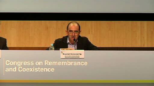 Políticas de la memoria en Euskadi: reconocer, reconciliar, relatar, recordar. Daniel Innerarity [35:40]