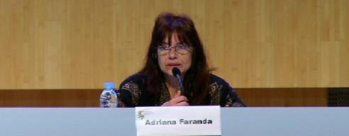 Sexta jornada del Congreso sobre Memoria y Convivencia, Adriana Faranda [11:32]