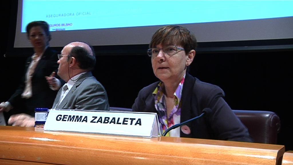"""Gemma Zabaleta asegura que """"la prevención no es una carga, sino un derecho individual"""" [5:38]"""
