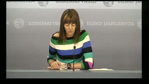 """El Gobierno Vasco dejará """"sin efecto"""" los recortes de Rajoy [38:50]"""
