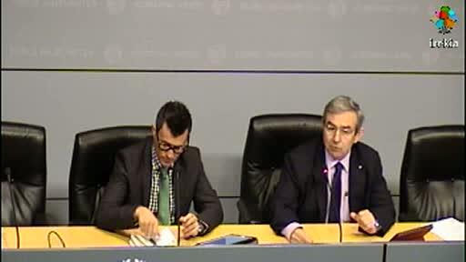 Lanbide destina 110 millones de euros a la formación, un 14%más que en 2011 [40:26]