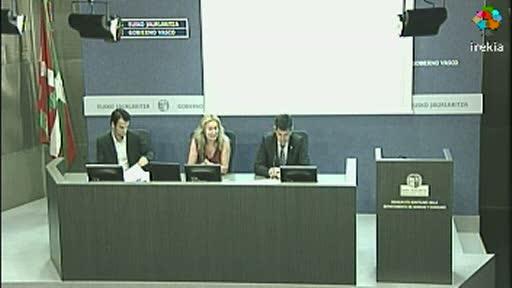 "Olga Rivera afirma que ""Euskadi en un referente por su modelo sanitario"" intervención íntegra [41:45]"