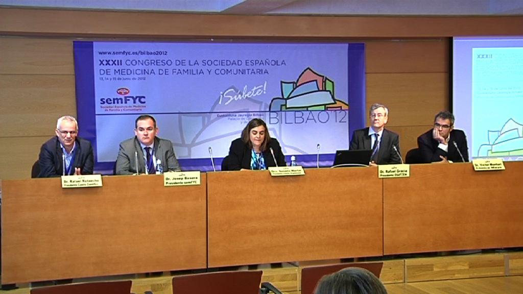 Más de 3.000 médicos de familia debatirán esta semana en Bilbao sobre la Atención Primaria  [38:09]