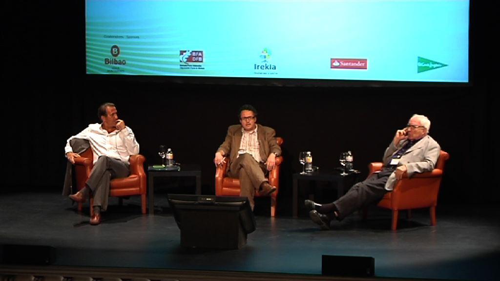 Televisión y cine:ideología, información y espectáculo. José Miguel Cintreras, Román Gubern-ACOP 2012 [97:10]
