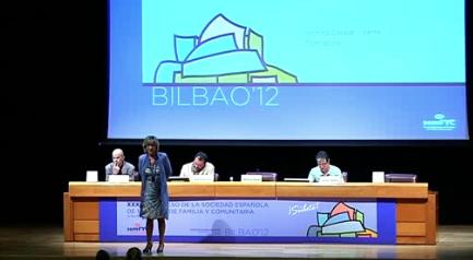 Tercera jornada del XXXII Congreso de la Sociedad Española de Medicina Familiar y Comunitaria (semFYC) en la Sala A1 del Euskalduna. Exploración física. [114:42]