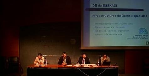 """""""Euskadi es un referente en infraestructura de datos espaciales""""  [4:45]"""