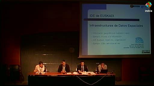 Taller de Innovación Pública: Infraestructura de Datos Espaciales de Euskadi. IDE de Euskadi; parte I [130:39]