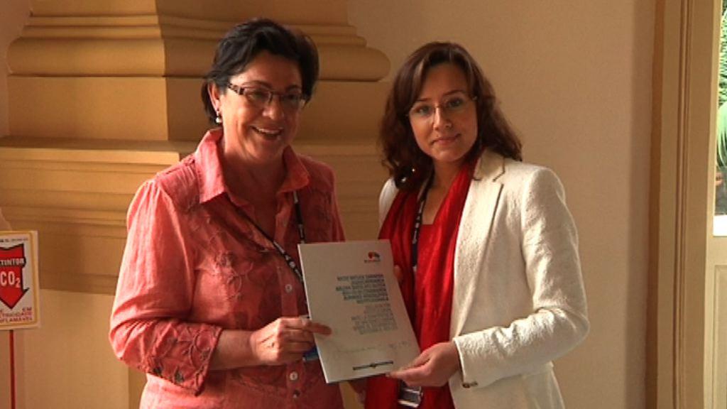 Pilar Unzalu propone colaborar técnica y financieramente entre regiones para impulsar políticas de aguas [1:05]