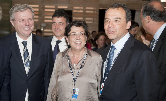"""Pilar Unzalu reivindica el """"papel responsable"""" de las regiones en el camino hacia la sostenibilidad"""