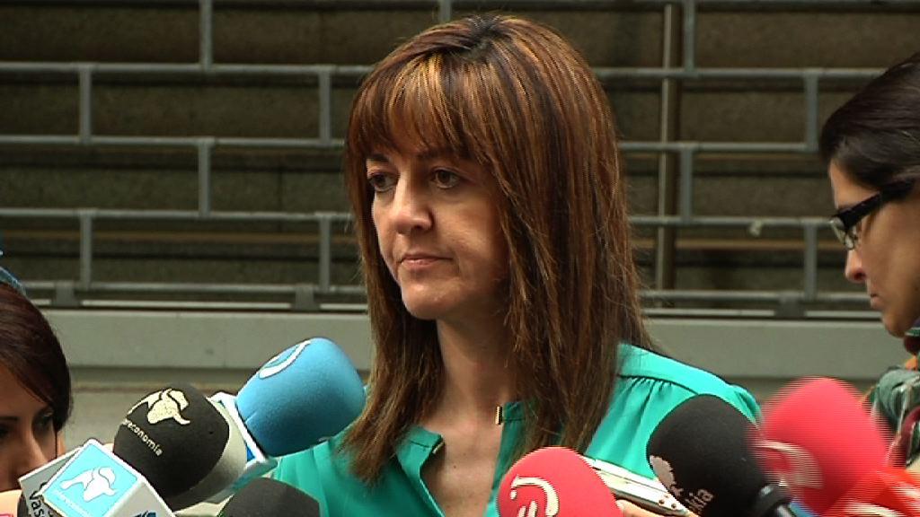 """Idoia Mendia: """"La sentencia sobre la legalización de Sortu ratifica una realidad que ya existía"""" [1:08]"""