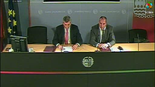 Repsol y Gobierno vasco firman un protocolo para reforzar la colaboración en materia de emergencias [12:02]