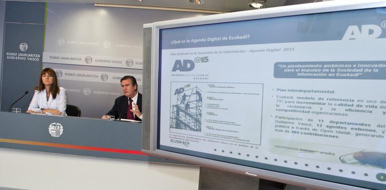 Eusko Jaurlaritzak Euskadi 2015en Agenda Digitala onartu du