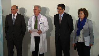 Lehendakari inauguracion hospital alto deba