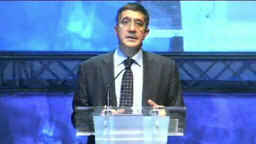 """Apertura a cargo del Lehendakari. """"Ideas para cambiar el mundo"""" (viernes 06.07.12) [17:57]"""