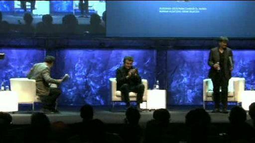 """Debate con Alfredo Jaar y Luisa Etxenike """"Ideas para cambiar el mundo"""" (sábado  07.07.12) [24:36]"""