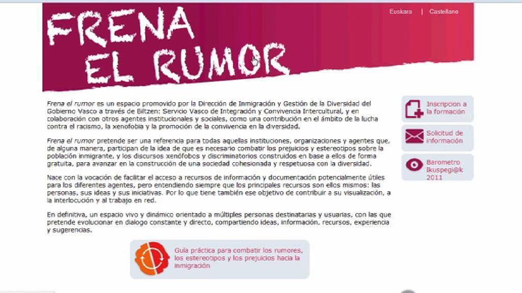 Empleo y Asuntos Sociales presenta una guía que contrarresta los rumores que afectan a la población inmigrante [3:01]