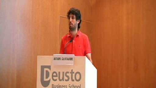 Aitor Guitarte. Estudiante de Medicina. La Web 2.0 para educar los profesionales del futuro [0:00]