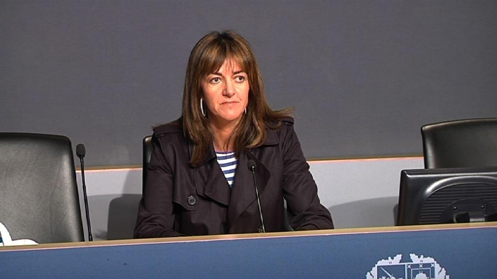 Declaraciones de la portavoz del Gobierno Vasco, Idoia Mendia, para valorar las medidas anunciadas por el Presidente del Gobierno, Mariano Rajoy [6:50]