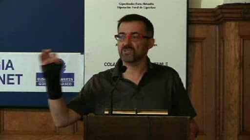 """""""Buruzagitza partekatuak, zaintzapeko politika"""". Antoni Gutiérrez-Rubí. EHUren udako ikastaroak (12.07.11) [82:51]"""